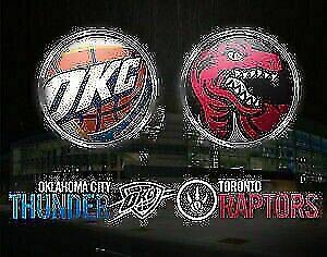 Toronto Raptors vs Oklahoma Thunders - Half Price!!!