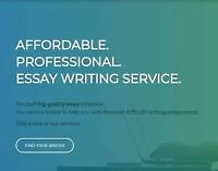 Research & Writing projects - affordable prices for students!