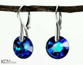 Swarovski earrings with silver 925