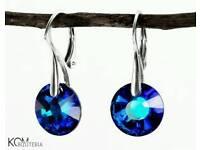 Swarovski earrings with silver 925