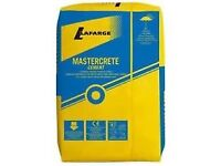Mastercrete cement and OPC cement 25 kilo.