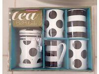 mug n tea caddy set
