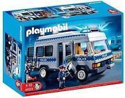 Playmobil Polizei Mannschaftswagen