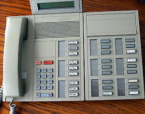 Nortel Meridan M5209 multiline phone & SWITCHBOARD addon Centrex