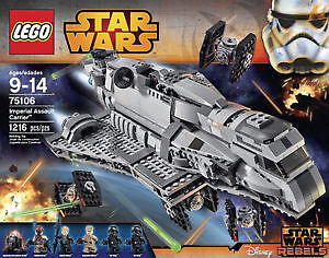 LEGO Star Wars Imperial Assault Carrier 75106 Sealed Box