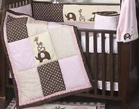 Lambs and Ivy Emma crib bedding set