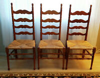 Solid Wood Ladderback Chairs