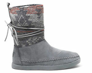 Toms - Suede Jacquard WOMEN'S NEPAL Boots NEW* Size 11
