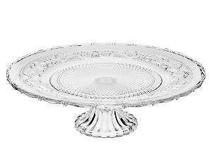 Depression Glass Footed Cake Plate  sc 1 st  eBay & Footed Cake Plate | eBay
