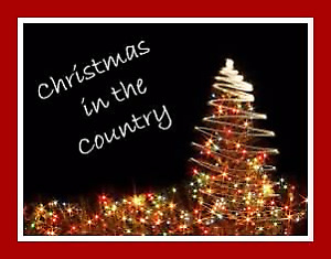 CHRISTMAS IN THE COUNTRY!!!