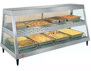 Hatco 58.5  counter top hod food display cabinet - top quality