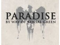 Chef de Partie required for the iconic Paradise by Way of Kensal Green; competitive package