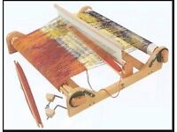 Loom. Ashford Rigid Heddle LOOM and Ashford BOOK of Rigid Heddle Weaving. Assembled. Lightly used.
