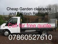 Garden clearance and Rubbish removal also man with van services