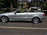 Convertible MERCEDES CLK 240 auto 2.6 petrol very clean