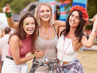 Damen-Festivalmode