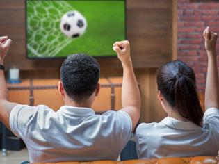 Fußball-Fanshop