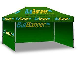3x6m Full Colour Cutom Printed Folding Marquee, Gazebo, S3 Sunshine West Brimbank Area Preview