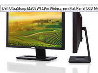 NEW Dell UltraSharp 19in Widescreen Flat Panel LCD Monitor with cables
