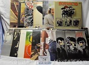 VINYL RECORD ALBUMS 33 1/3 rpm, 60's and 70's collection, over 70 LP's including double albums, classic artists