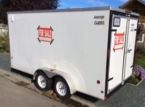 2015 Royal Lightning Cargo Trailer 7 x 14