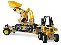 BRIO Builder System: Construction Vehicles Set with box and manual