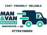 Manchester 24hr Man And Van Large Luton House Moves Motorbikes Quad Bikes Small Large Item Delivery