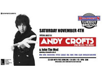 DEPARTMENT S CLUB NIGHT with ANDY CROFTS DJ SET