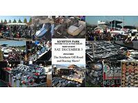 KEMPTON PARK MOTORCYCLE AUTOJUMBLE AND CLASSIC SHOW