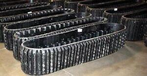NEW RUBBER TRACK FOR ALL TYPES OF SKID STEERS MINI EXCAVATOR