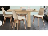 NEW next rectangle to square dining table in original packaging