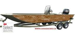 CAMO BOAT WRAP KIT
