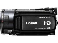 CANON LEGRIA hf s10 HD