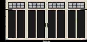 GARAGA 16' x 8' Eastmand E-12 Garage Door For Sale