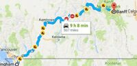 Ride offered: Banff to Kamloops, Abbotsford, Washington, Oregon