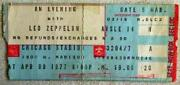 LED Zeppelin Ticket Stub