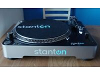 Stanton T62 MK2 Turntable (Direct Drive, Analogue)