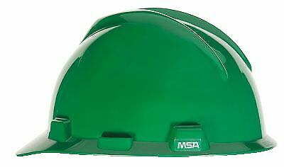 Msa Safety 10057445 V Gard Slotted Green Protective Cap W  1 Touch Suspension