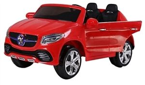 New Two Seater 12V Child Ride-On Car Doors Remote Rubber Tires