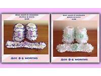 BABIES LACE BOOTS AND HEADBAND