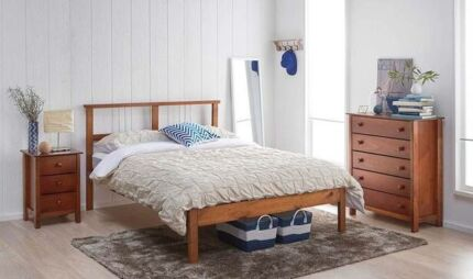 Bed Frame second hand (double)