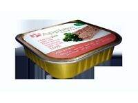 Luxury Applaws Salmon Pâté Cat Food 10 x 100g Trays