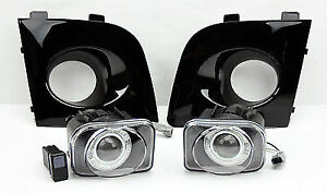 REDUCED Black Projector Halo Fog Lights