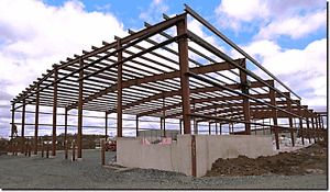 SALE on BUILDINGS! Steel framed, wood framed, and quonsets!