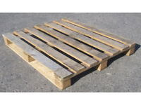 FREE WOODEN PALLETS, VARIOUS SIZES - COLLECTION ONLY - URGENT