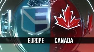 ► ►CANADA v EUROPE ◄ ◄World Cup Hockey GAME #2 Thur Sep 29