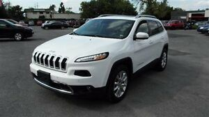 2015 Jeep Cherokee Limited - Prem Leather Trimmed Bucket Seats B