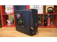 LENOVO Y900 GAMING PC I7 6700K GTX 1080 16GB DDR4 RAM 256GB SSD 2TB HDD