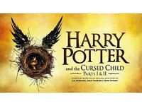 2 x Harry Potter Cursed Child Tickets - 19th July 2017 (BOTH PARTS, SAME DAY)