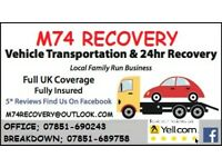 24hr Recovery & Transport Service